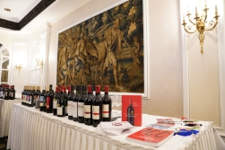 What a beautiful setting for the vast array of wines, great reads and colourful bookmarks!
